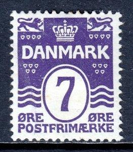 Denmark - Scott #92 - MH - Gum bump - SCV $14