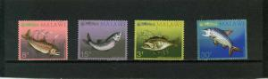 MALAWI 1974 Sc#217-220 FISH SET OF 4 STAMPS MNH
