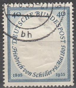Germany #727 F-VF Used CV $5.50 (C4697)