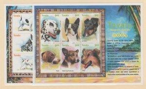 Tuvalu Scott #837-838 Stamps - Mint NH Souvenir Sheet Set