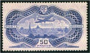 HERRICKSTAMP FRANCE Sc.# C15 1936 Banknote Mint NH