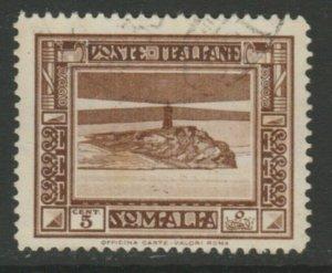 Somalia 1935-38 5c Perf. 14 Usato Italia Colonie Italy Colony A18P13F184