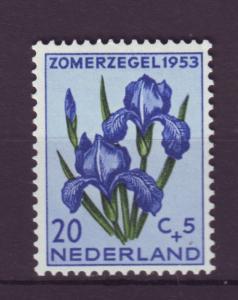 J8219 JLs stamps 1953 netherlands hv set mh #b253 $14.50scv