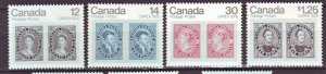 J22161 Jlstamps 1978 canada set mh #753-6 stamps