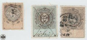 Austria Cinderella Revenue Fiscal stamp 9-19-21 as seen- 4s