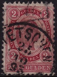 Austria - 1890 - Scott #64 - used - perf 11 1/2