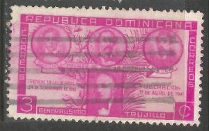 DOMINICAN REPUBLIC 369 VFU N901-6