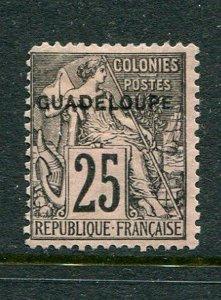 Guadeloupe #21 Mint