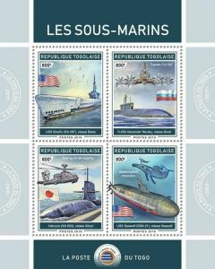 Z08 TG190119a TOGO 2019 Submarines MNH ** Postfrisch