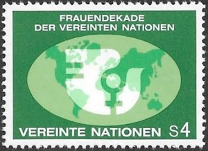 United Nations UN Austria Vienna 1980 Sc # 9 Mint NH. Ships Free With Another