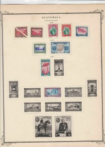 guatemala stamps page ref 17219