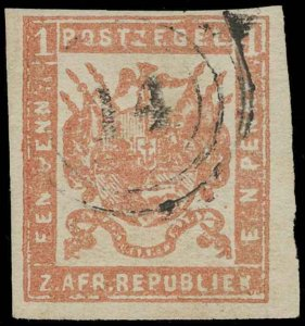 Transvaal Scott 44v Gibbons 79 Used Stamp