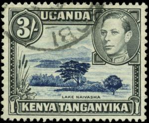 Kenya, Uganda, & Tanzania Scott #82 Used