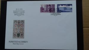 Norway FDC 1998 150th Anniversary Royal castle