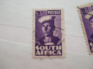 South Africa #93a used (reference 1/4/3/5)