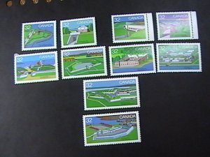 CANADA # 1050 - 1059-MINT NEVER/HINGED---COMPLETE SET----1985
