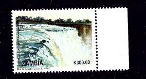 Zambia 620 MNH 1993 Waterfall