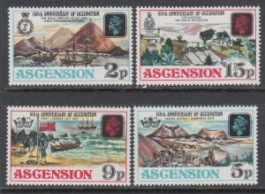 Ascension 192-195 MNH VF