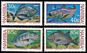 Namibia MNH 755-8 Coastal Angling Fish Marine Life 1994