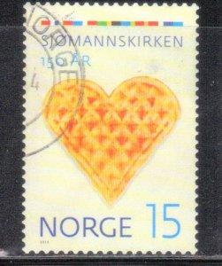 NORWAY SC# 1729 *USED*  15K  2014  SEE SCAN