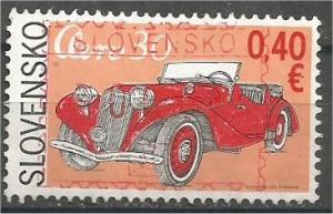 SLOVAKIA, 2011, used 0.40, Vintage Cars - Aero 30 Mi:SK 664