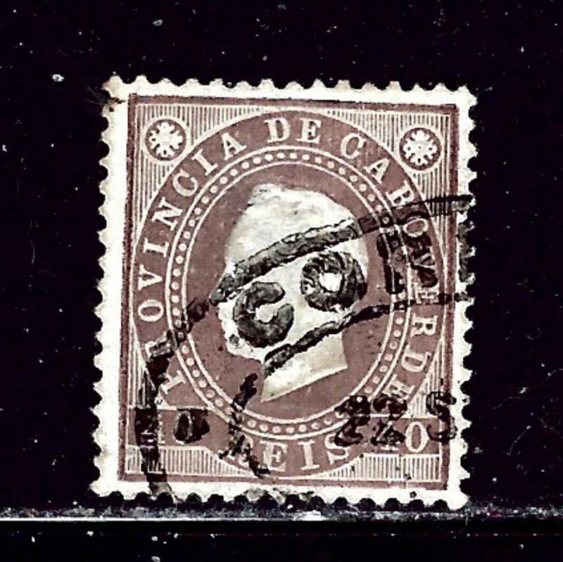Cape Verde 19 Used 1886 issue