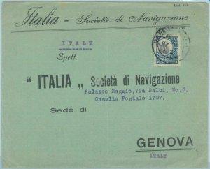 89213 - TANGANYIKA  - POSTAL HISTORY -  COVER to ITALY 1925 - Fauna: GIRAFFE