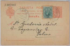 55944 - SPAIN - POSTAL HISTORY: POSTAL STATIONERY CARD  from MURO 1920