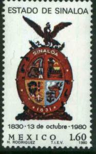 MEXICO 1216, Sesquicentennial of the State of Sinaloa MINT, NH. VF.
