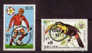 BELIZE SC# 616-617 MNH