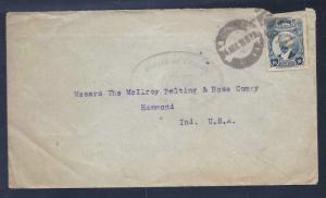 MEXICO 1917 Scott 614 on Nicely Dated Cancel plus Passed by Censor #759 $75.00