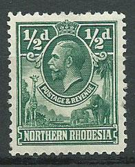 Northern Rhodesia  SG 1 Mint Hinged