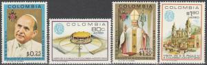 Colombia #782, C507-9 MNH (K1L)