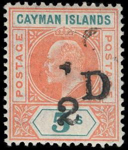 Cayman Islands Scott 18 Gibbons 18 Mint Stamp