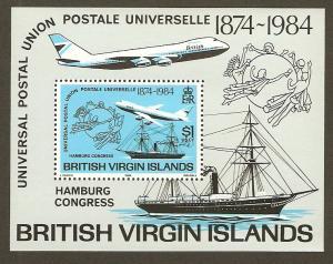 Virgin Islands #470 NH UPU Congress SS