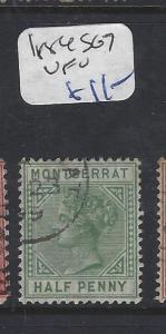MONTSERRAT  (P2912B)  QV 1/2D  SG 7   VFU