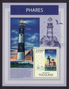 Togo - New Issue - MNH Lighthouses (S/S)