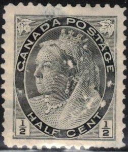 Canada Scott #74 MH (1) (see description)