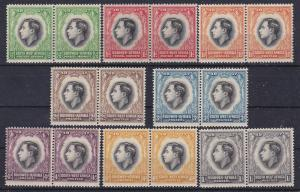 South West Africa 125-32 MNH 1937 Coronation