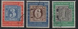 Germany #667-8, B309   Used  VF   -  Lakeshore Philatelics