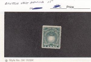 J26289  jlstamps 1890-4 br east africa #15 crown
