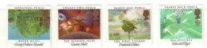 Great Britain Sc 1103-6 1985 Europa Music stamp set mint NH