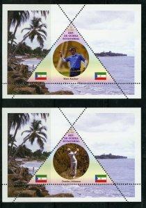 EQUATORIAL GUINEA - GOLFERS  GS170