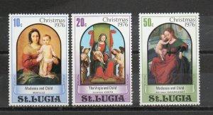 St. Lucia 409-411 MNH