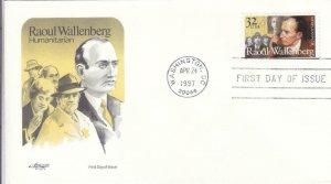 1997, Raoul Wallenberg, Artmaster, FDC (D13440)