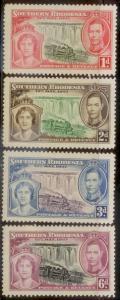 South Rhodesia 1937 SC# 38-41 MNH  L59