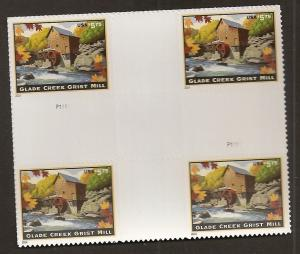US 4927 Priority Mail Glade Creek Grist Mill $5.75 cross gutter block MNH 2014