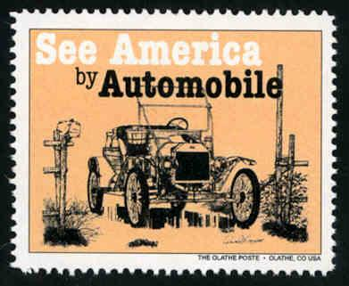 See America by Automobile #1 - Artistamp - Cinderella - MNH