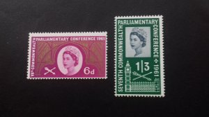 Great Britain 1961 The 7th Commonwealth Parliamentary Conference Mint