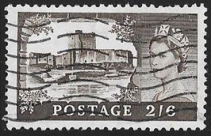 Great Britain 309 Used - Carrickfergus Castle - Elizabeth II